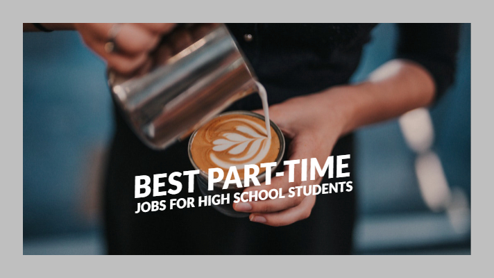 best jobs for high school students