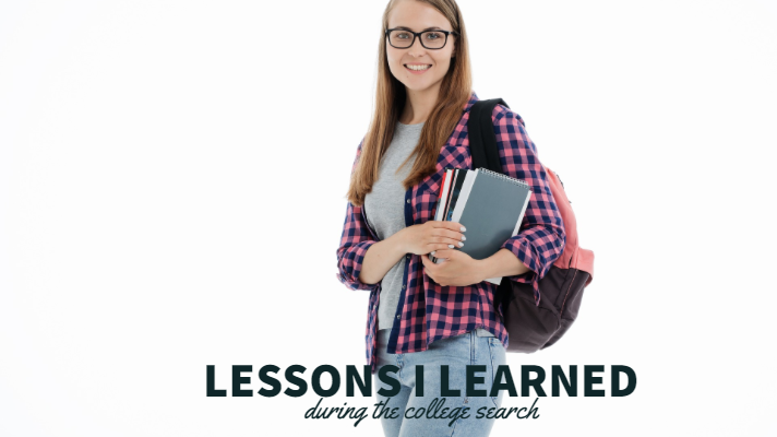 Lessons I Learned During the College Search